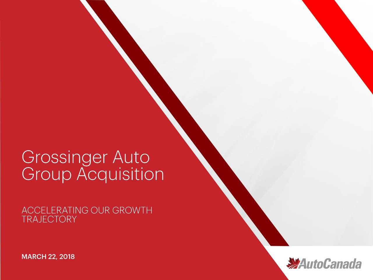 Autocanada Aocif Acquires Grossinger Auto Group Slideshow