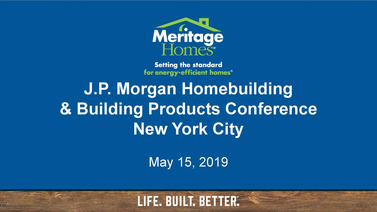 & Building Products Conference New York City May 15, 2019
