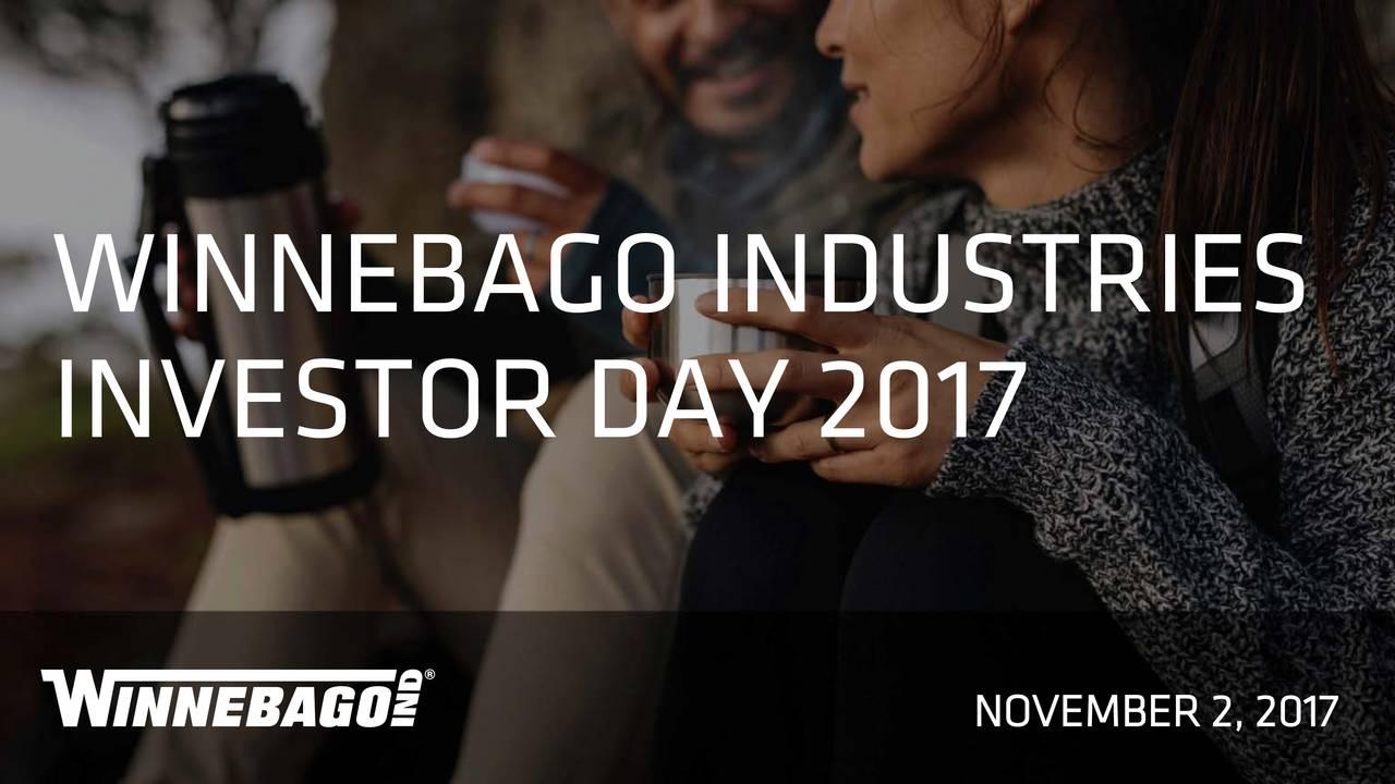 Winnebago (WGO) Investor Presentation - Slideshow