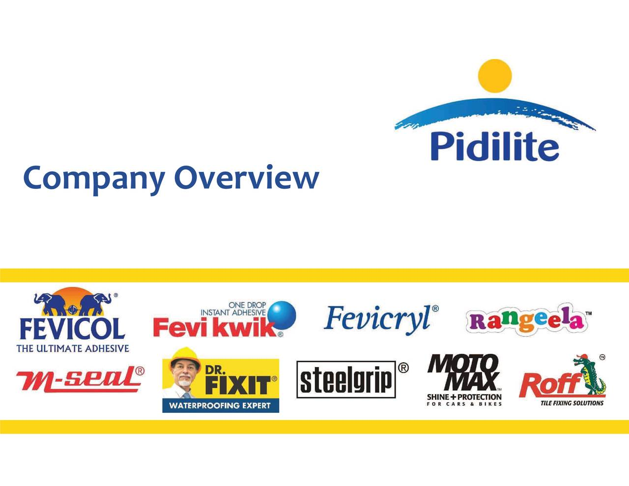 Pidilite Industries Ltd Adr 2019 Q1 Results Earnings Call Slides Otcmkts Pdlty Seeking Alpha