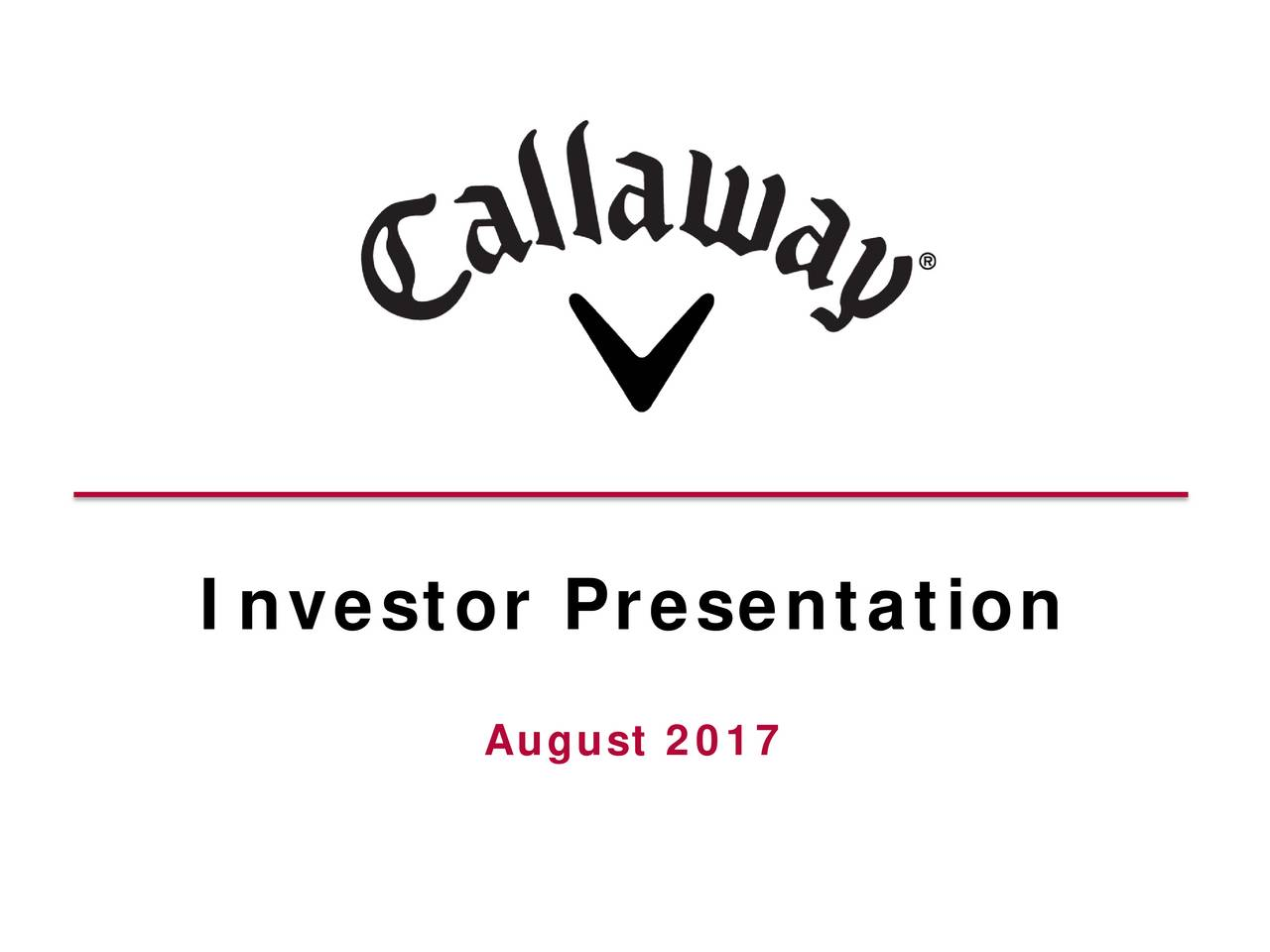 an analysis of the strategic direction of callaway golf company Callaway golf company - strategy, swot and corporate finance report, is a source of comprehensive company data and information the report covers the company's.