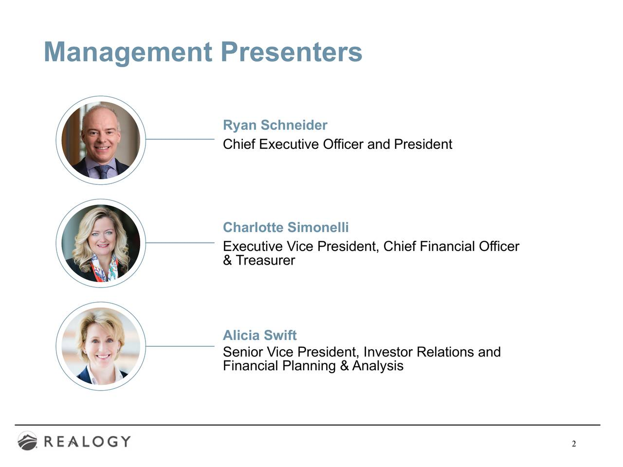 Management Presenters