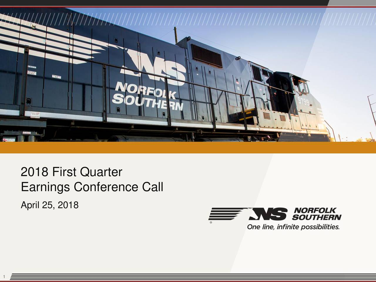 Norfolk Southern Corporation 2018 Q1 Results Earnings Call