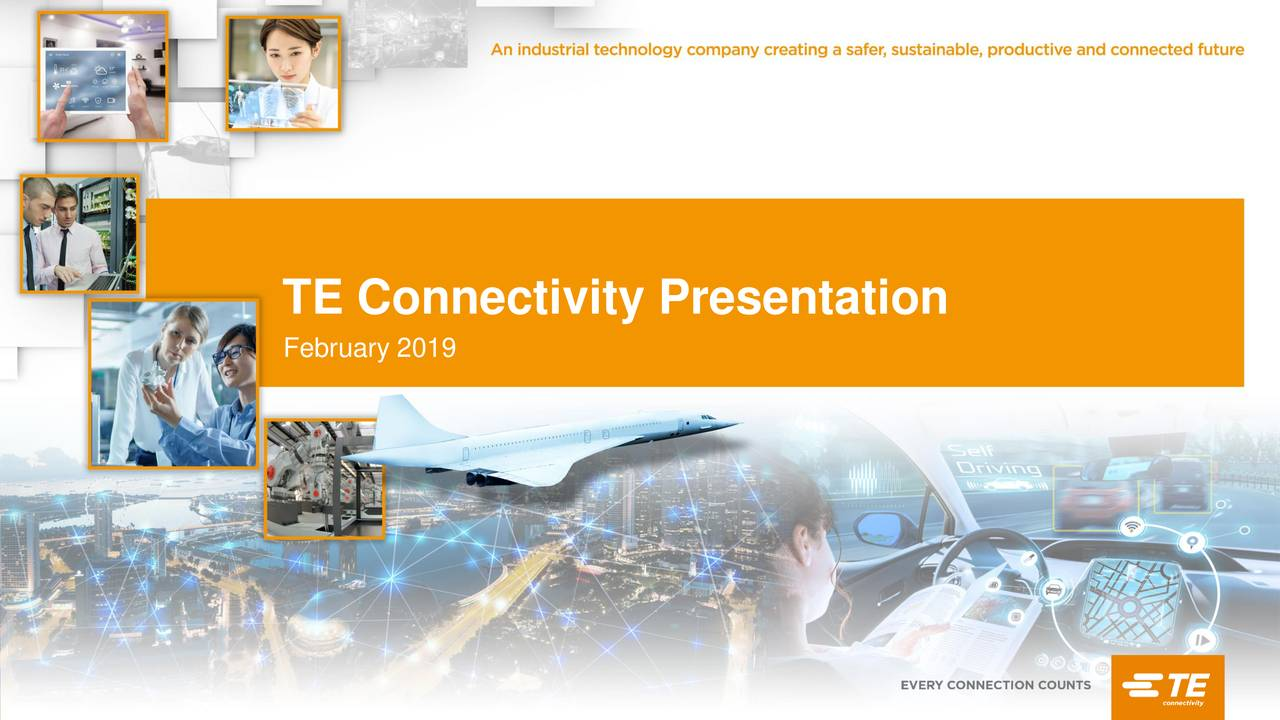 TE Connectivity (TEL) Presents At Morgan Stanley Technology