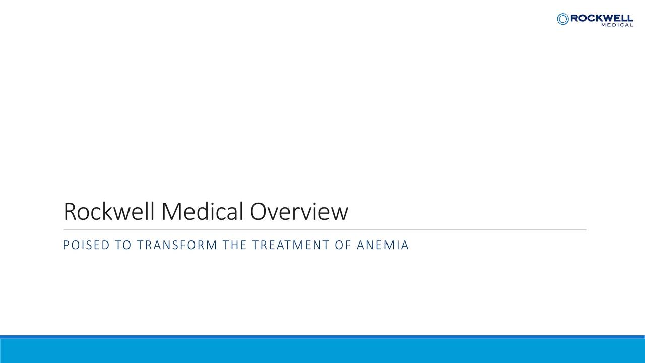 Rockwell Medical Overview
