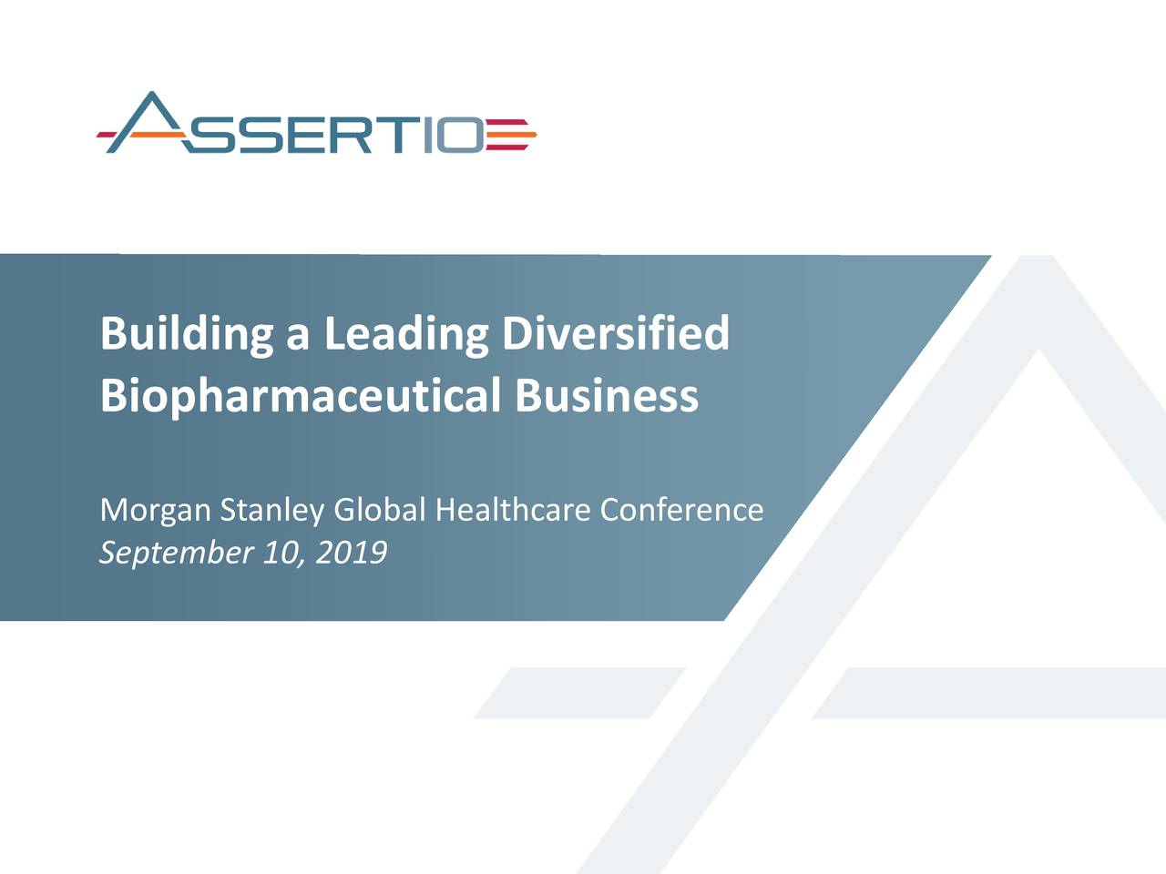Building a Leading Diversified
