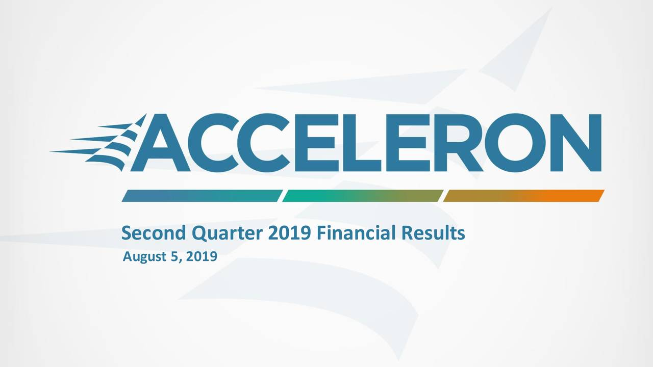 Second Quarter 2019 Financial Results