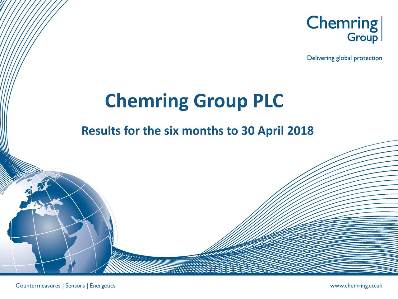 Results for the six months to 30 April 2018