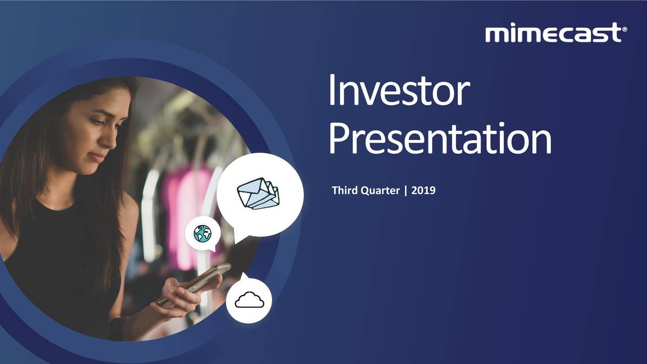 Presentation Third Quarter | 2019