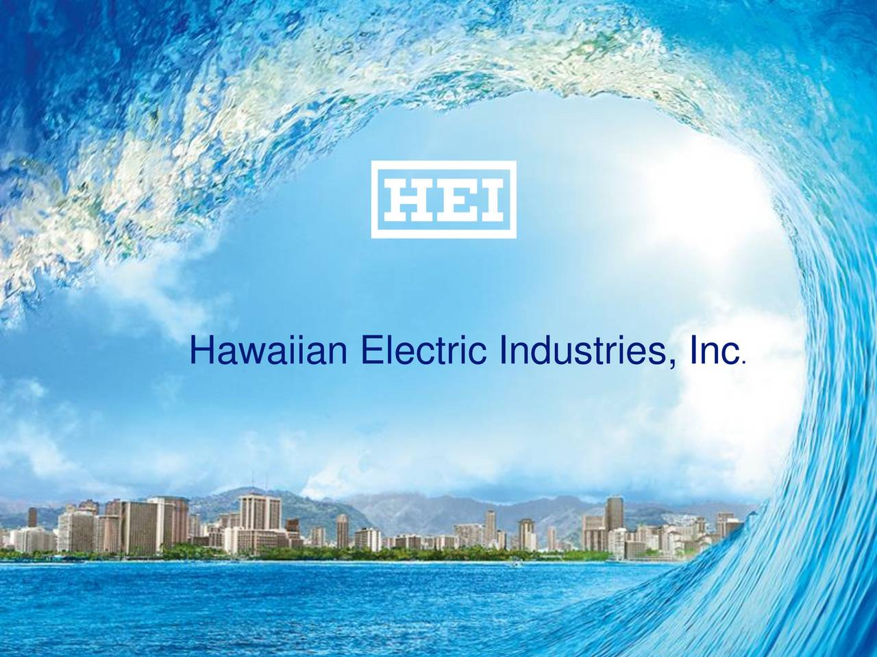 Hawaiian Electric Industries Inc. 2016 Q4 - Results ...