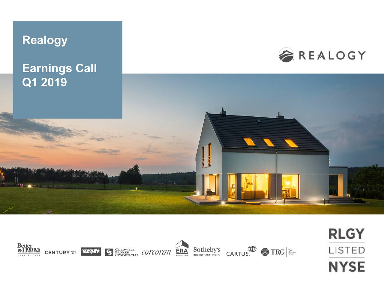 Earnings Call Q1 2019
