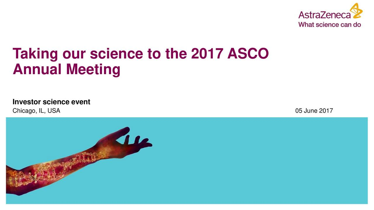Annual Meeting Investor science event Chicago, IL, USA 05 June 2017