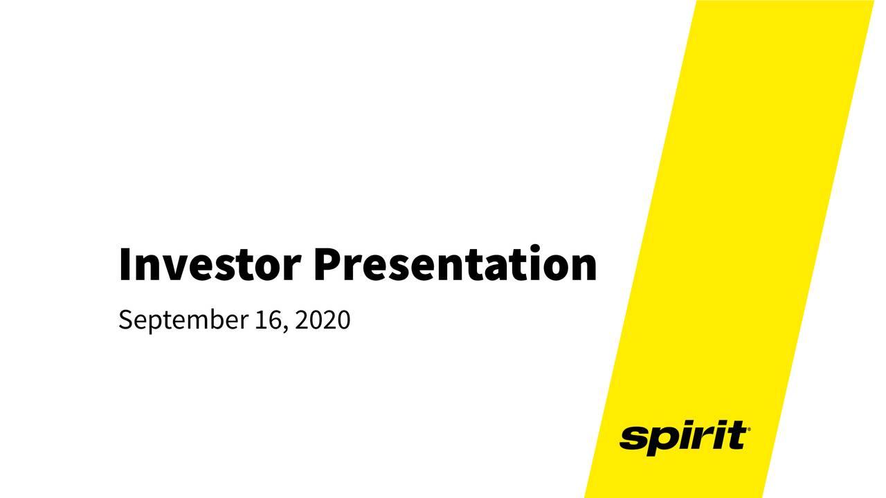 Spirit Airlines (SAVE) Investor Presentation - Slideshow (NYSE:SAVE)
