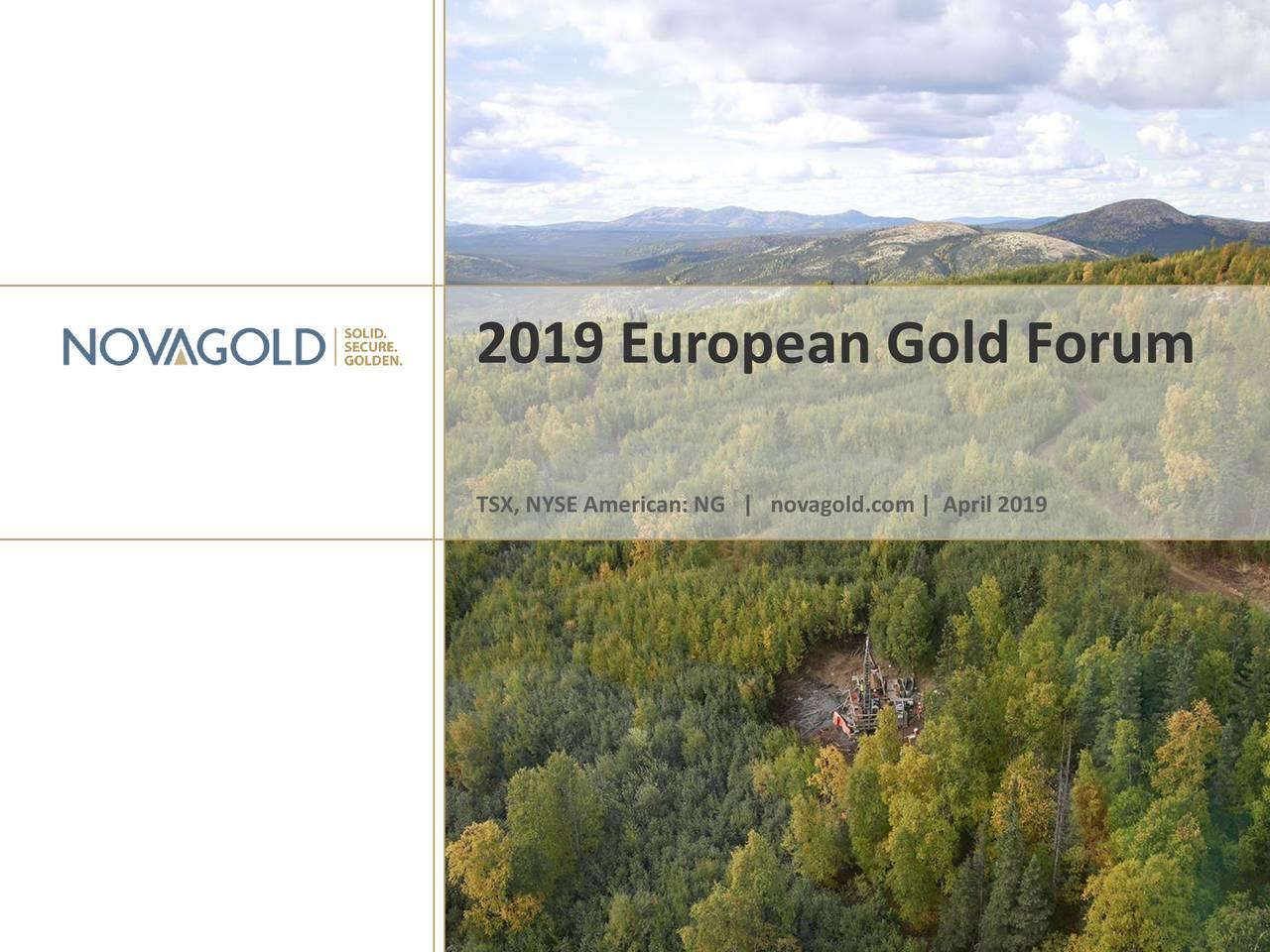 NovaGold Resources (NG) Presents At European Gold Forum