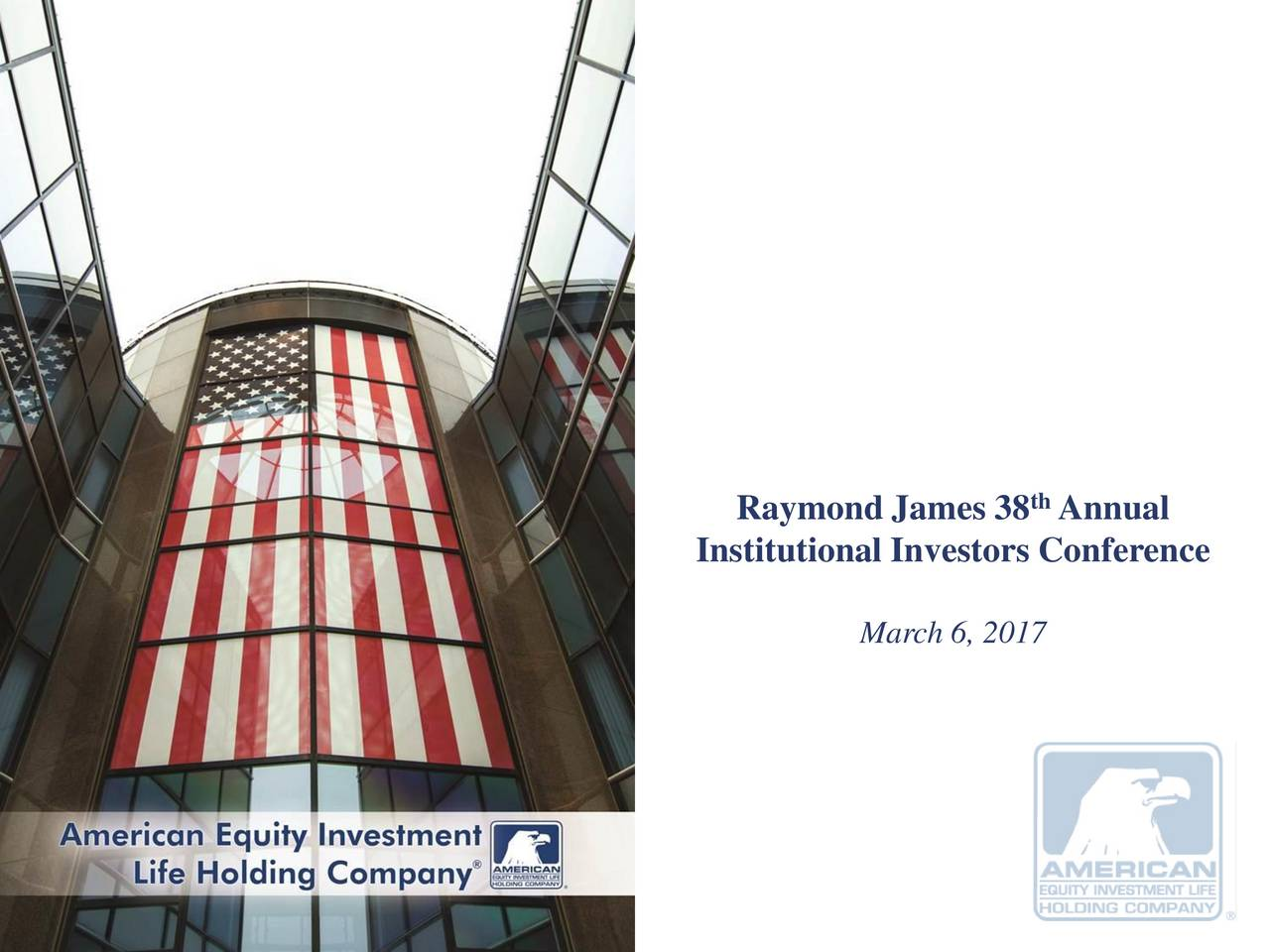 Institutional Investors Conference March 6, 2017