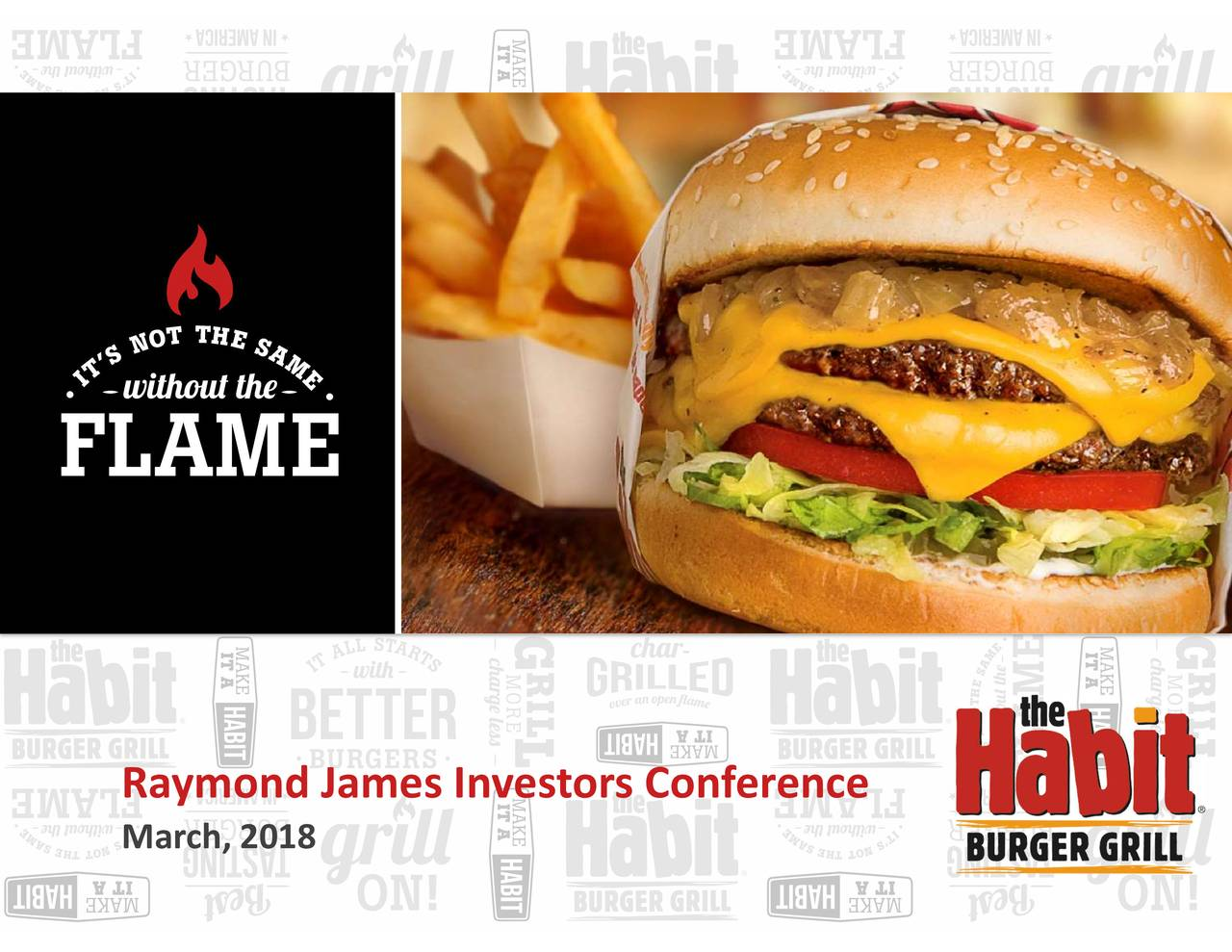 The Habit Restaurants Habt Presents At Raymond James 39th Annual
