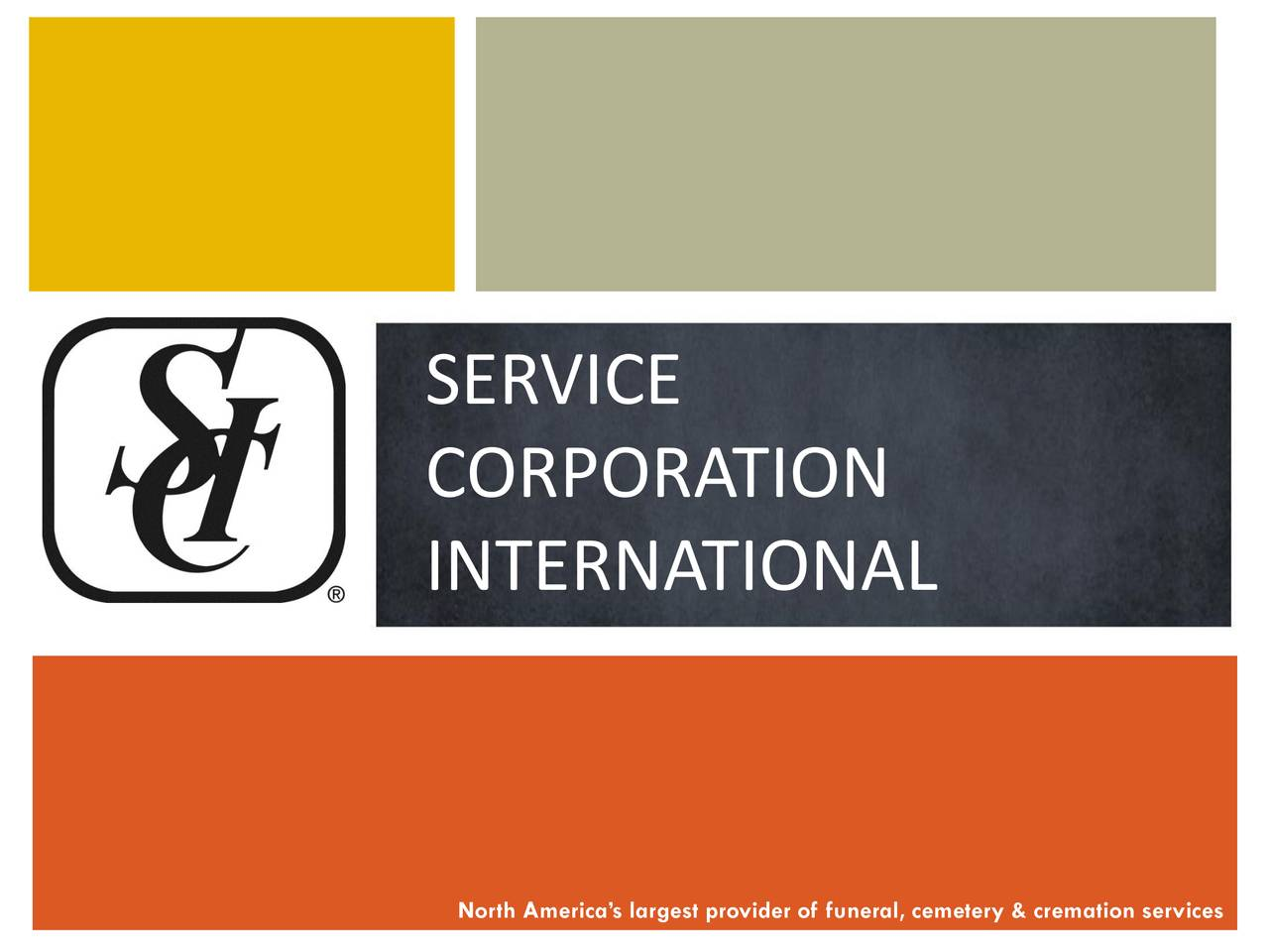 service corporation international Service corporation international (sci) is to death what h&r block is to taxes sci, the largest funeral and cemetery services company in north america, operates more than 1,500 funeral homes and some 470 cemeteries in 45 us states, eight canadian provinces, the district of columbia, and puerto rico.