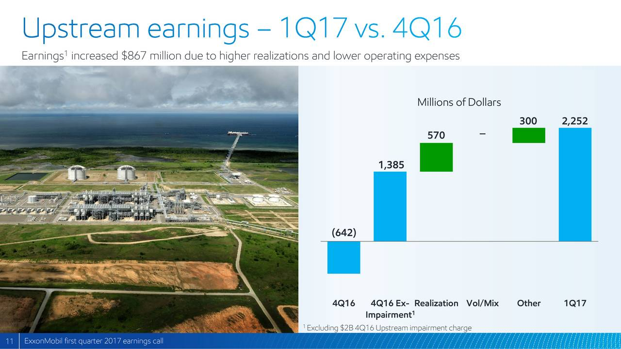 exxon mobil corporation 2017 q1 - results - earnings call slides