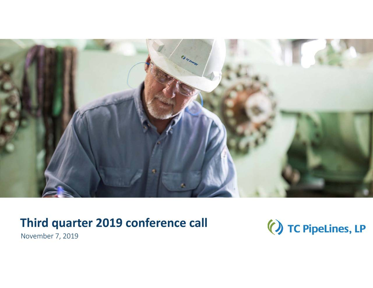 Third quarter 2019 conference call