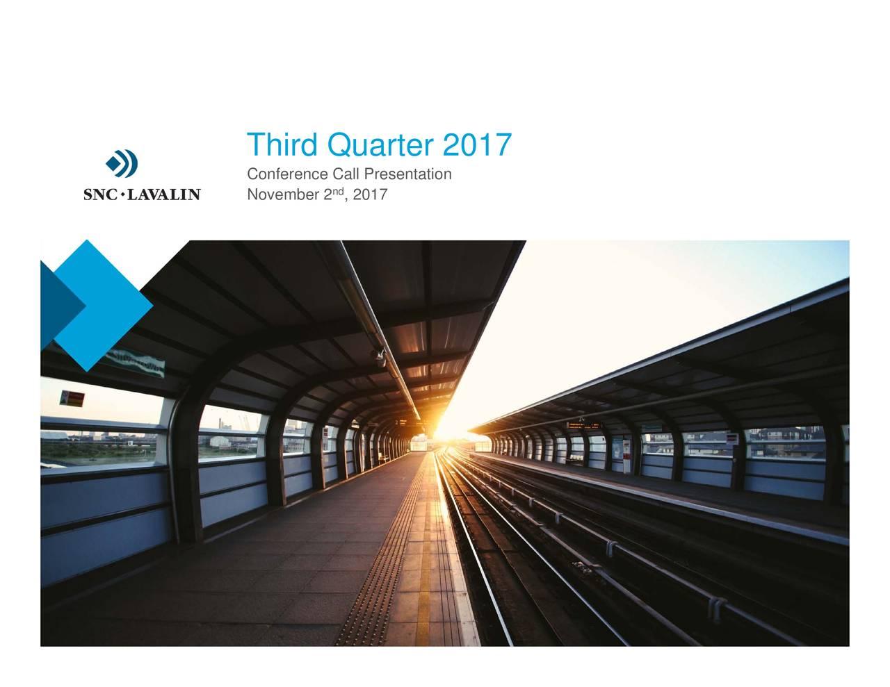 nd ›hir› Q›arter 20172ll Presentation