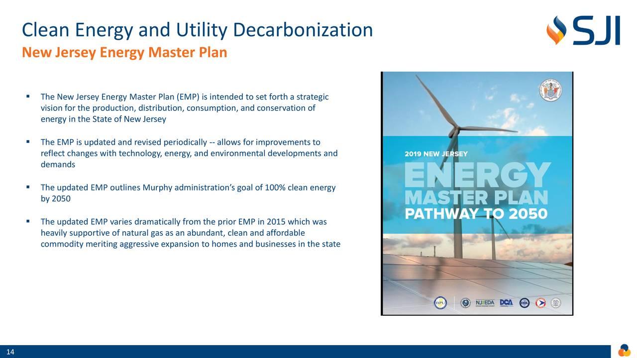 Descarbonización de energía limpia y servicios públicos