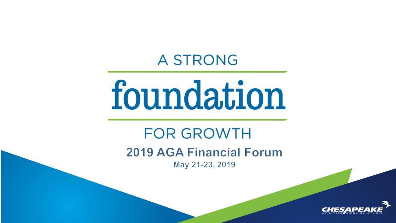 Chesapeake Utilities (CPK) Presents At AGA Financial Forum
