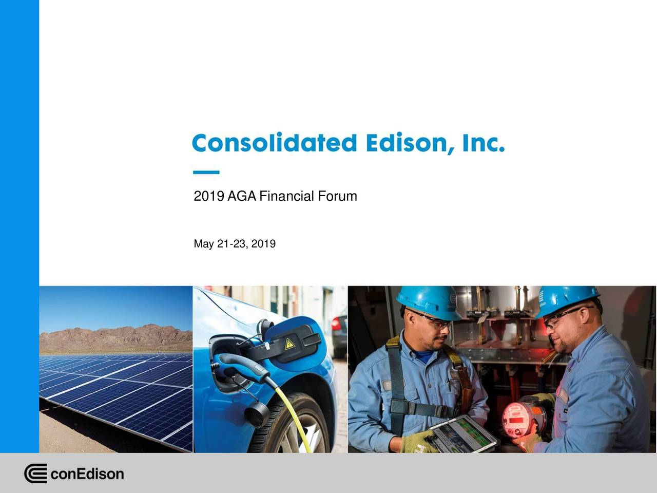 Consolidated Edison (ED) Presents At AGA Financial Forum