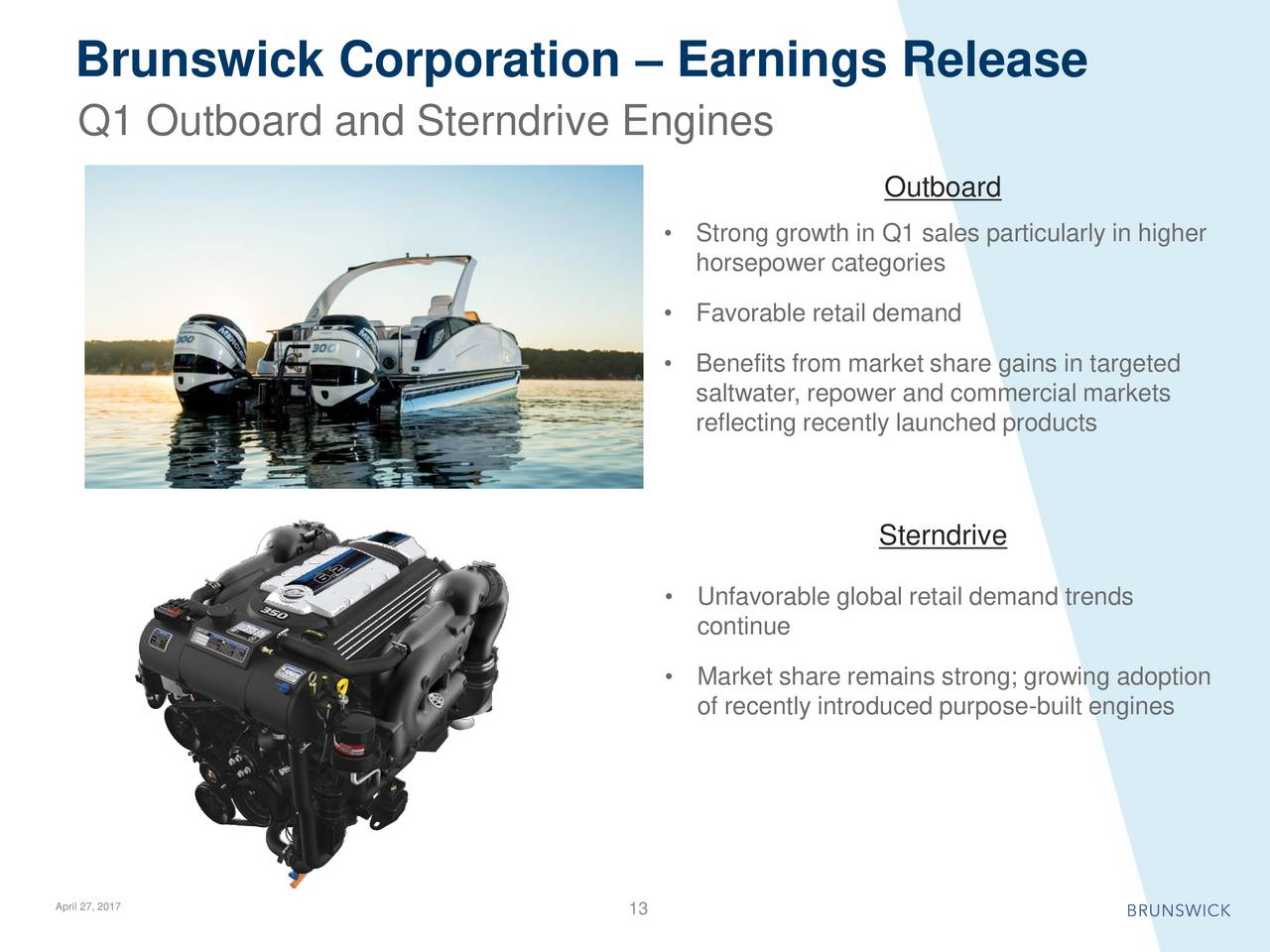 brunswick corporation Mettawa, ill, march 1, 2018 - brunswick corporation (nyse: bc) (brunswick or the company) today announced that its board of directors has authorized proceeding with a spin-off of its fitness business following the proposed transaction, the fitness business will be an independent, standalone.