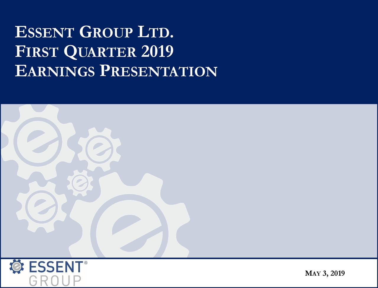 FIRSTQ UARTER 2019 EARNINGS PRESENTATION MA3, 2019