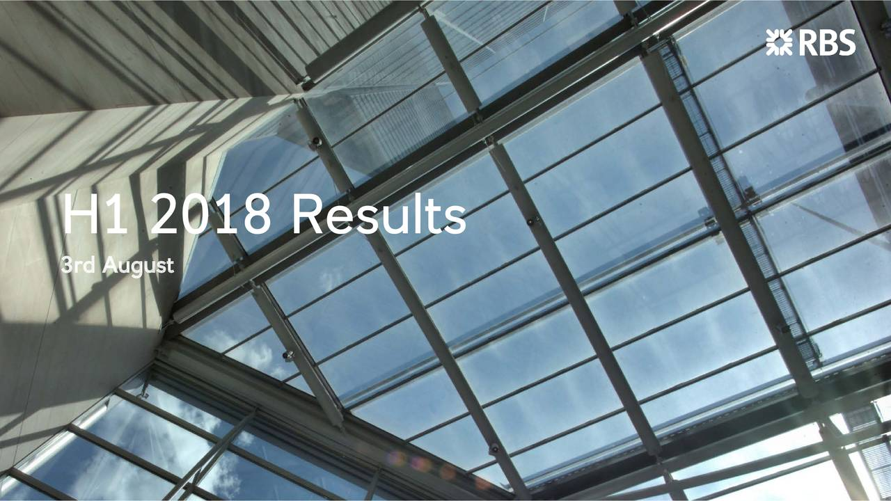H1 2018 Results