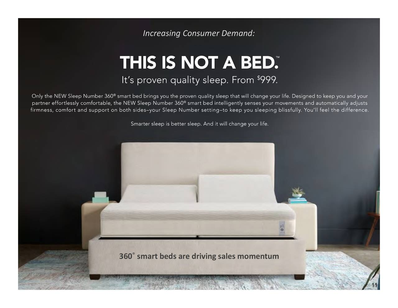 Sleep Number Corporation 2018 Q3 Results Earnings Call Slides Nasdaq Snbr Seeking Alpha