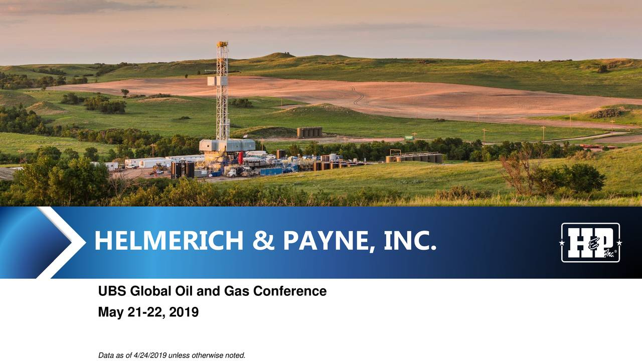 Helmerich & Payne (HP) Presents At UBS Global Oil and Gas Conference - Slideshow