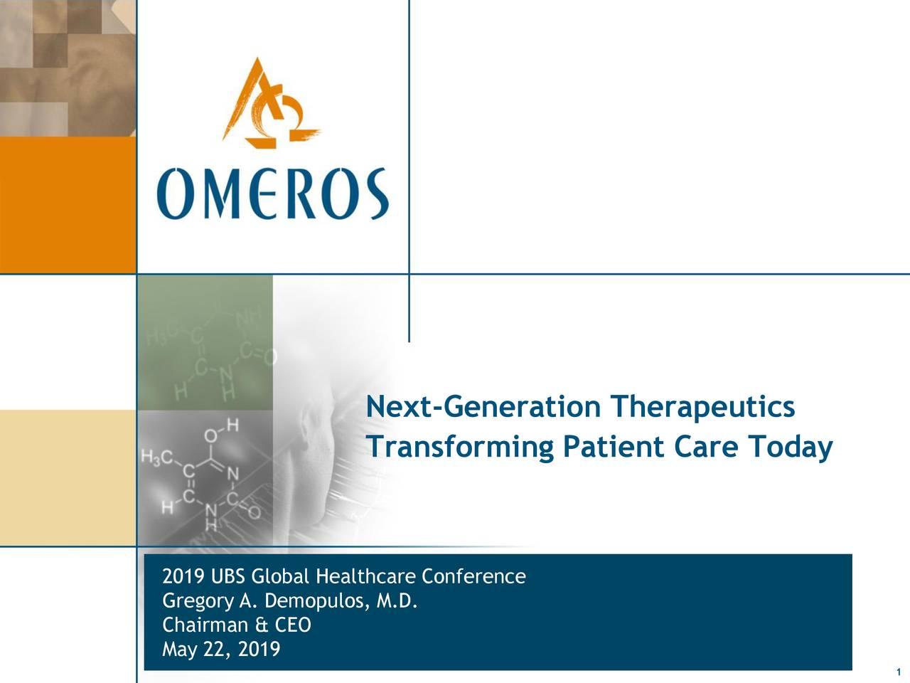 Next-Generation Therapeutics