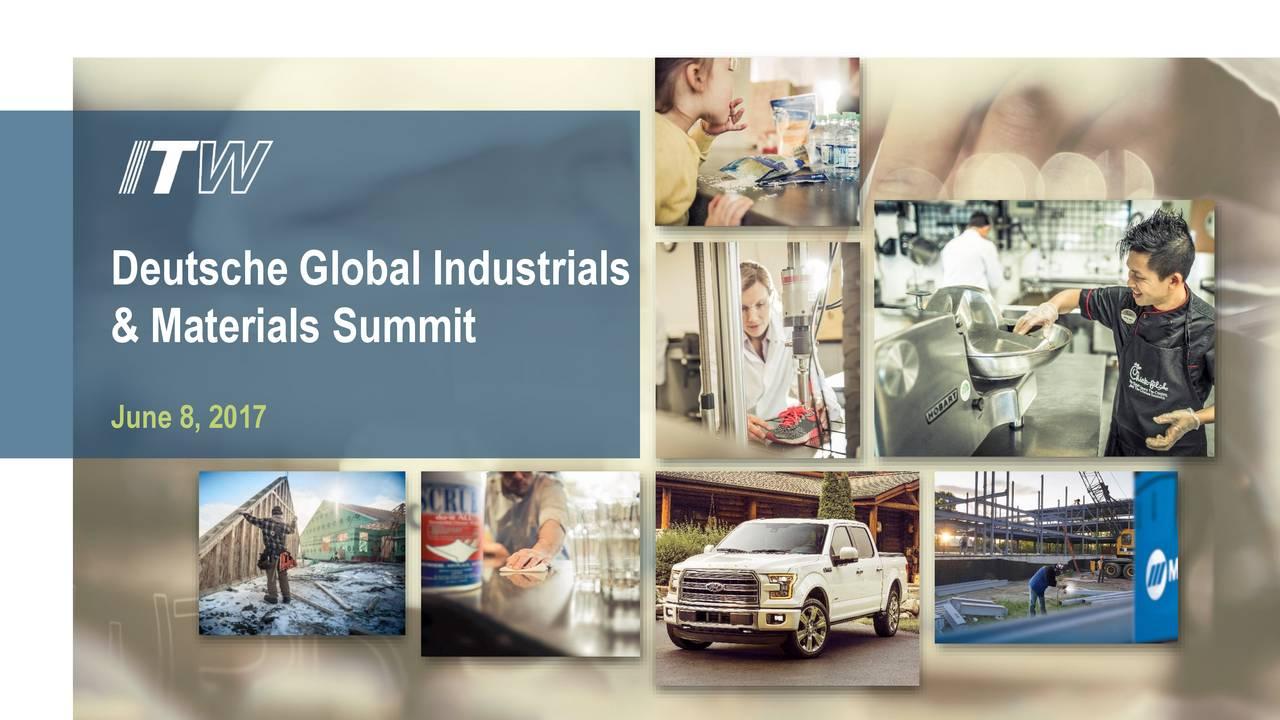 & Materials Summit June 8, 2017