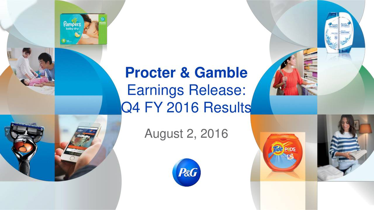 strategic audit for proctor and gamble