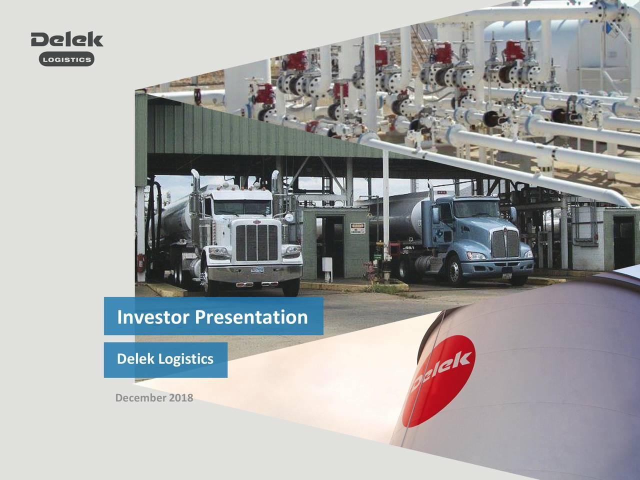 Delek Logistics December2018