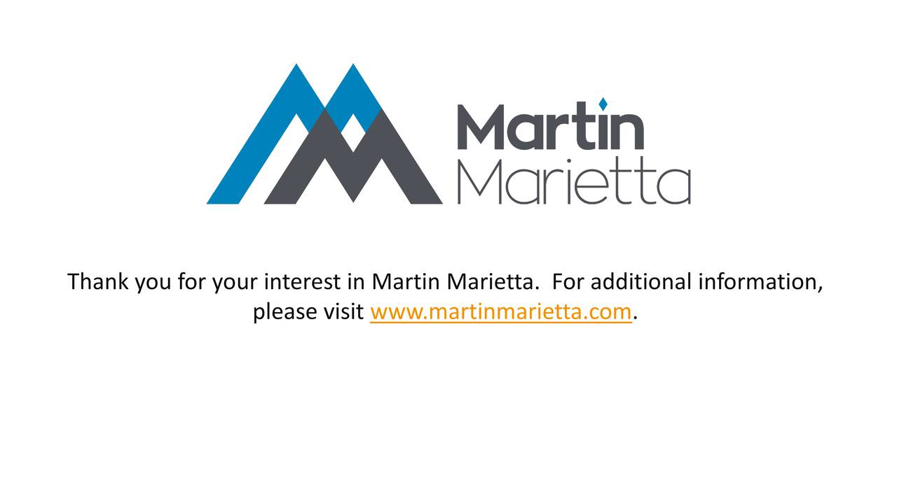 martin marietta casestudy Free case study solution & analysis environmental analysis of lockheed martin formed in 1995 by the merger of lockheed corporation with martin marietta.