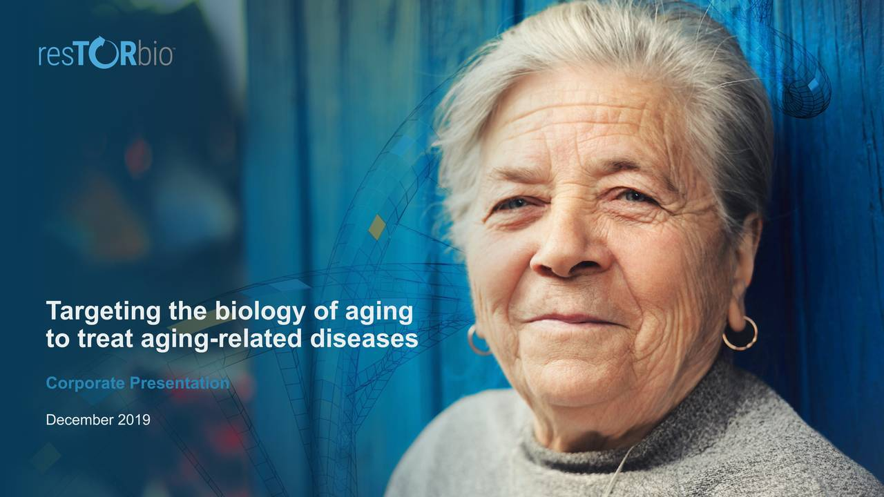 Targeting the biology of aging