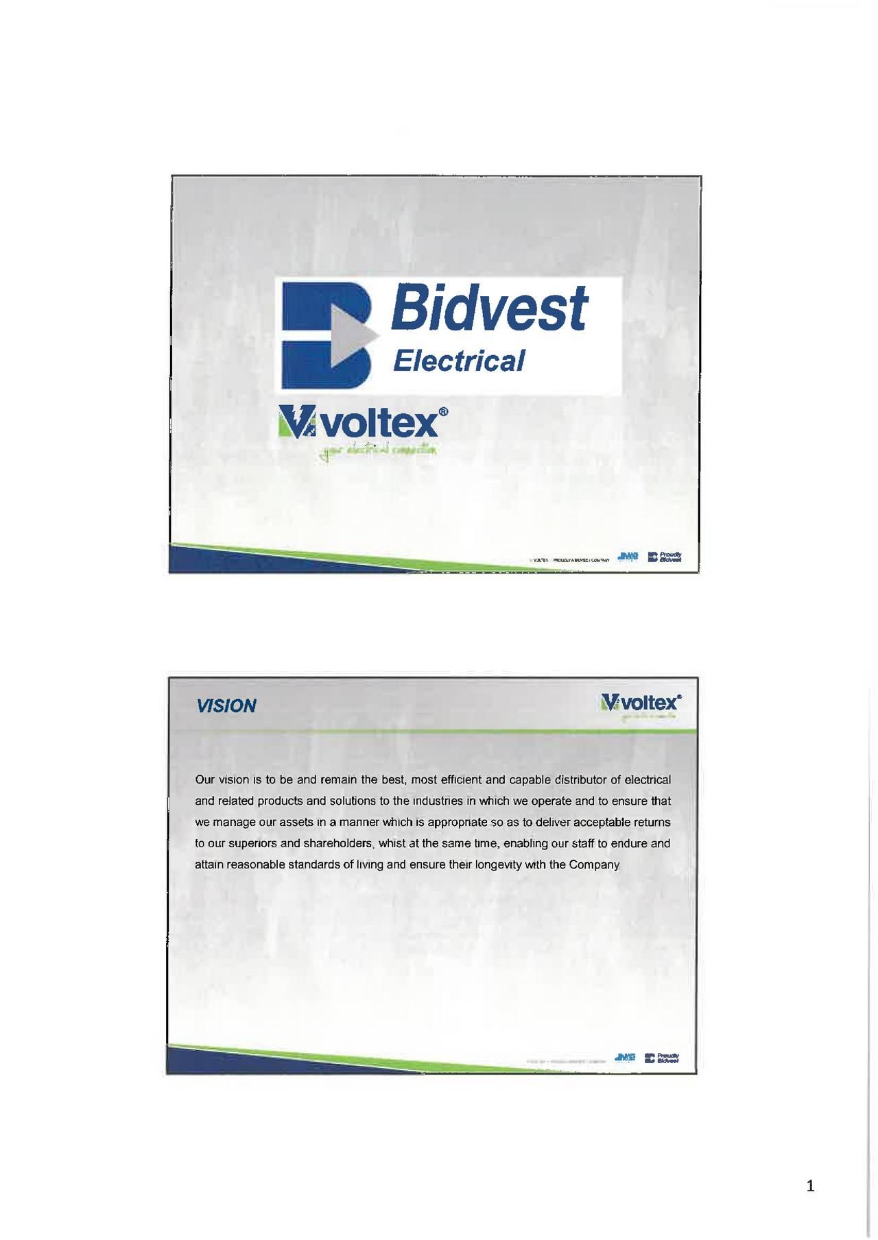 Bidvest forex