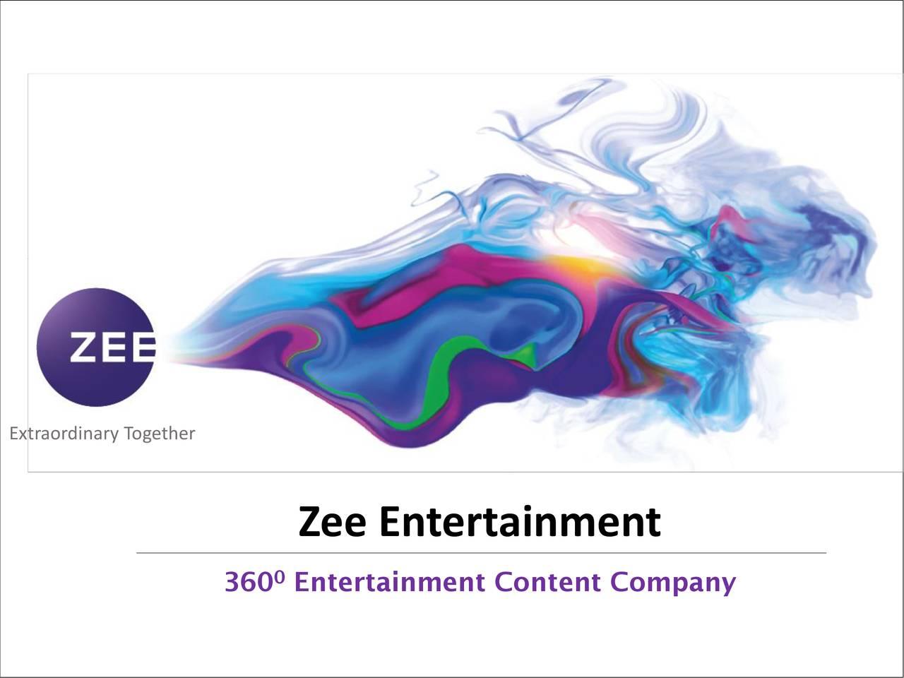 Zee Entertainment (ZEEEY) Presents At Nomura Investment