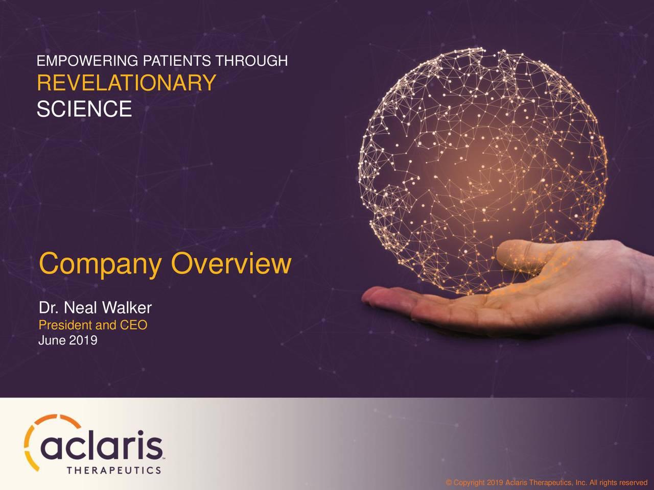 Aclaris Therapeutics (ACRS) Investor Presentation - Slideshow