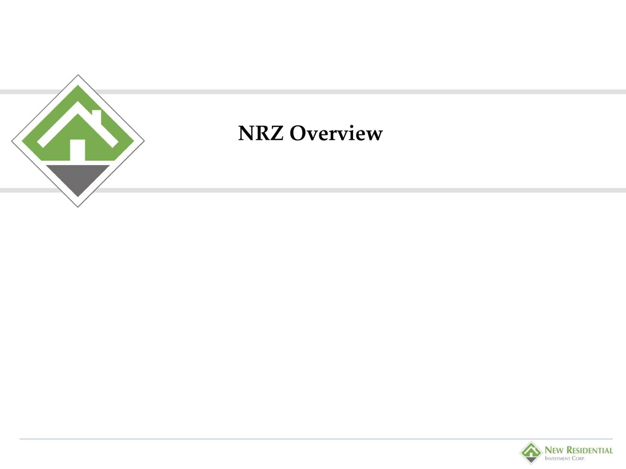 NRZ Overview