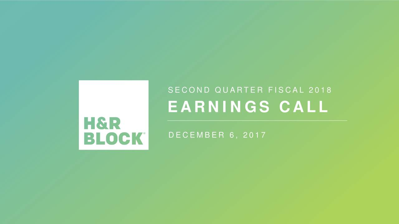 H&R Block's - Tax Season Software is Here! We are very pleased to announce that H&R Block's tax year software for filing your tax return by April 15th will be available beginning November 12,