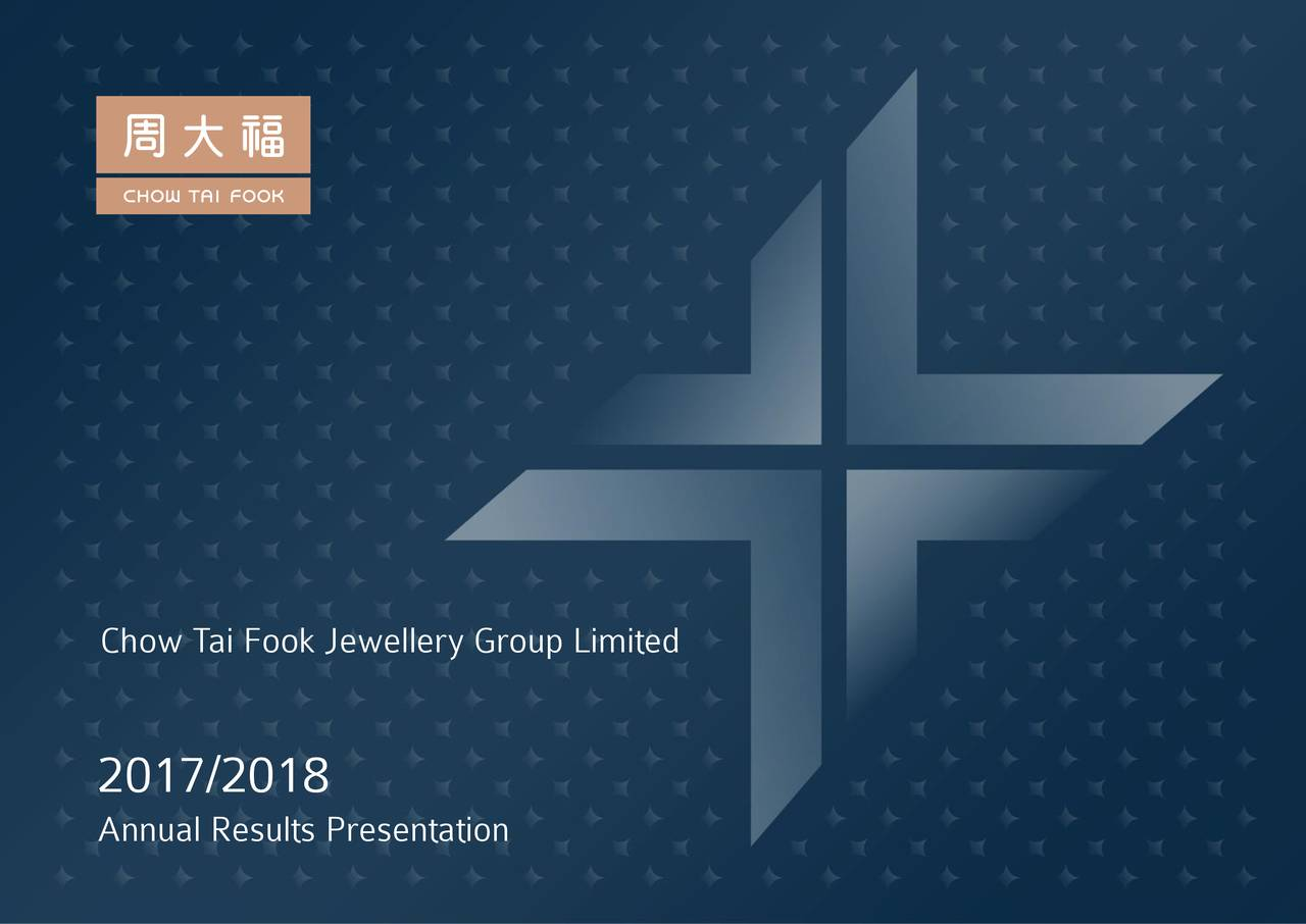 Chow Tai Fook Jewellery Group Limited Adr 2018 Q4 Results