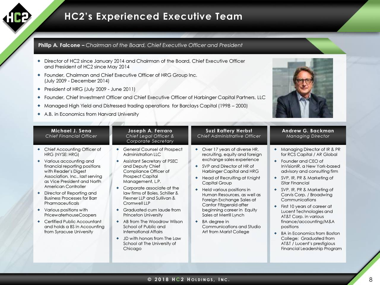 Hc2 Holdings (HCHC) Presents At 6th Annual ROTH New ...
