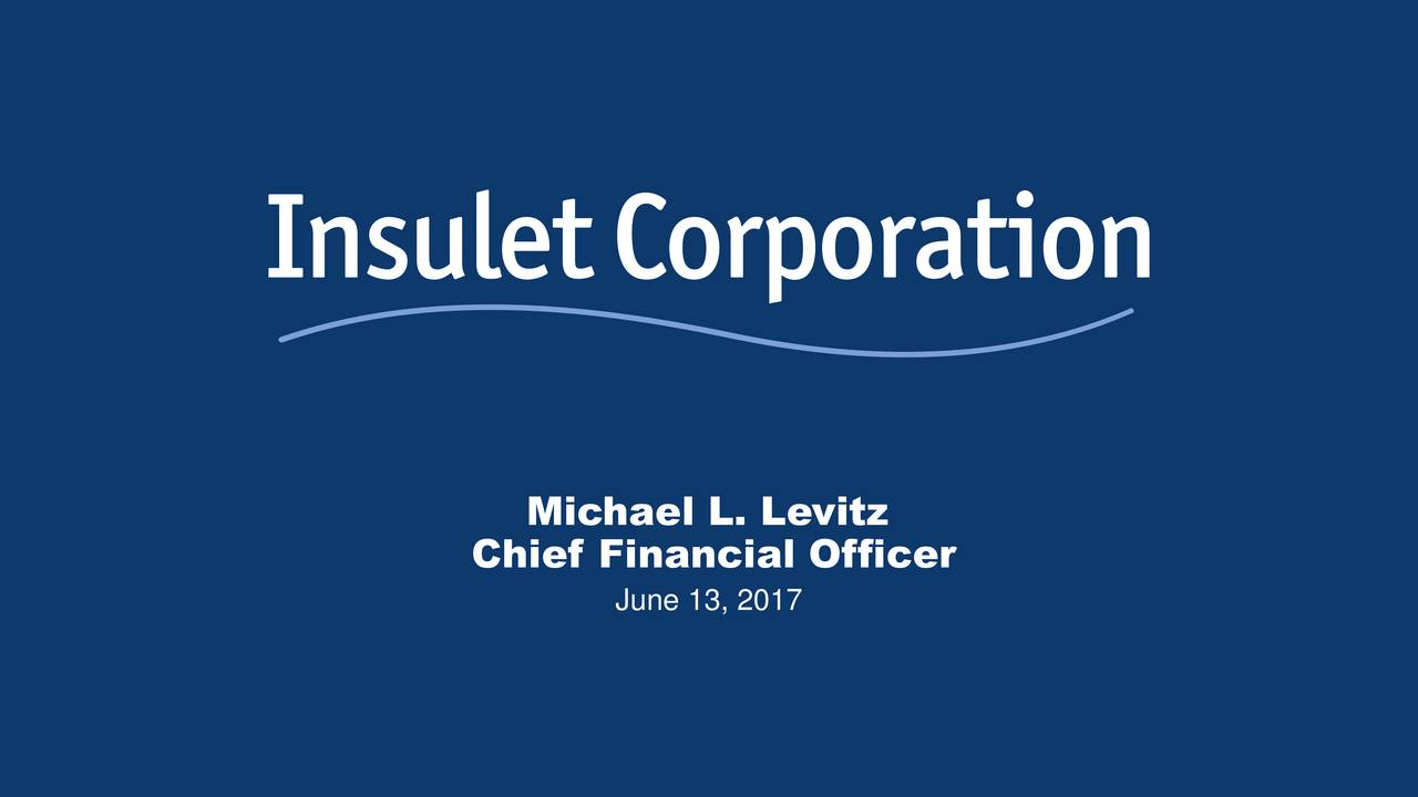 Chief Financial Officer June 13, 2017