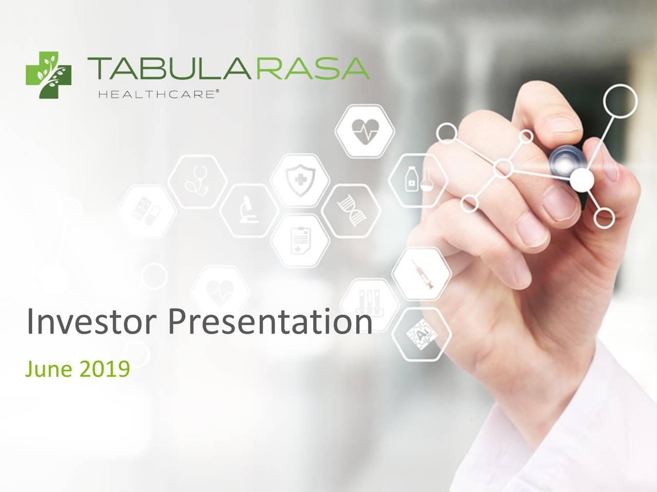 Tabula Rasa HealthCare (TRHC) Investor Presentation - Slideshow