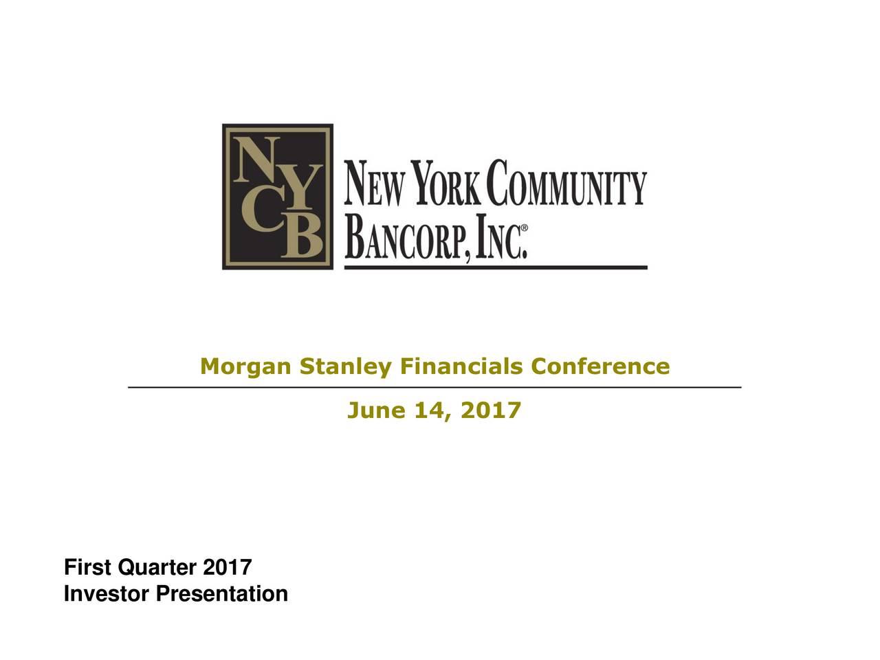 June 14, 2017 First Quarter 2017 Investor Presentation