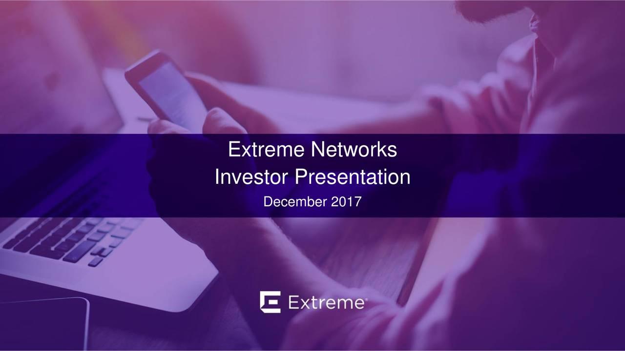 Investor Presentation December 2017