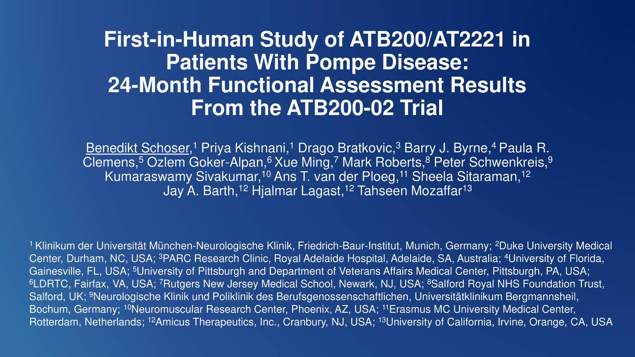 First-in-Human Study of ATB200/AT2221 in
